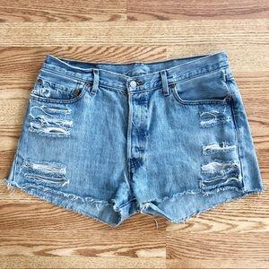 Vintage Levi 501 Denim Shorts